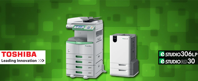 Toshiba Multi Function Printer With Erasable Toner